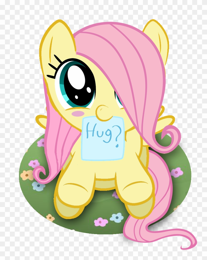 - Fluttershy Adorable Filly - Baby My Little Ponies - Free