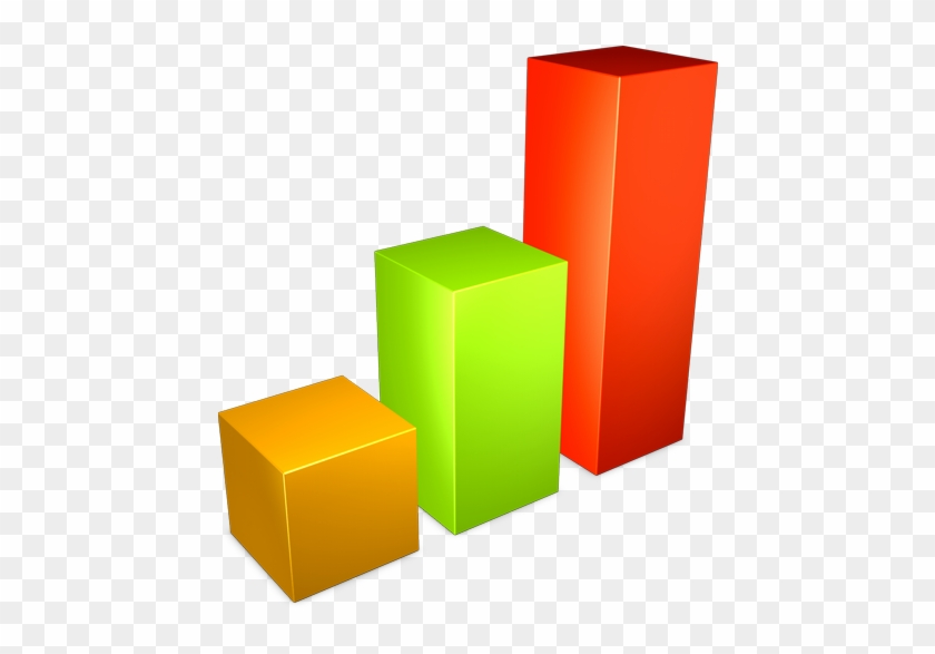 Bar, Graph Icon - 3 Bar Graph Png #652047