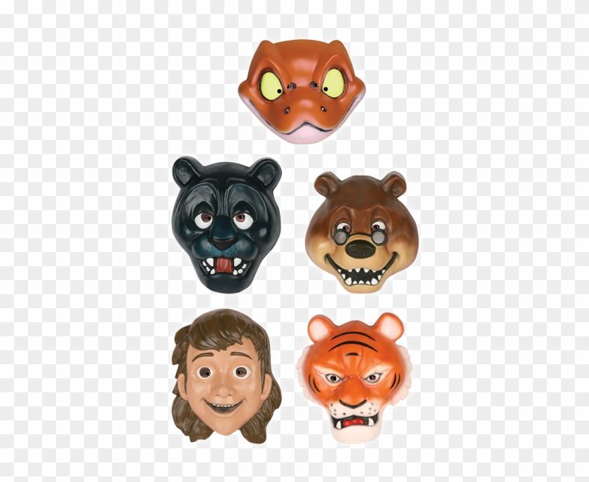 Jungle Book Masks - Jungle Book Character Masks #652441
