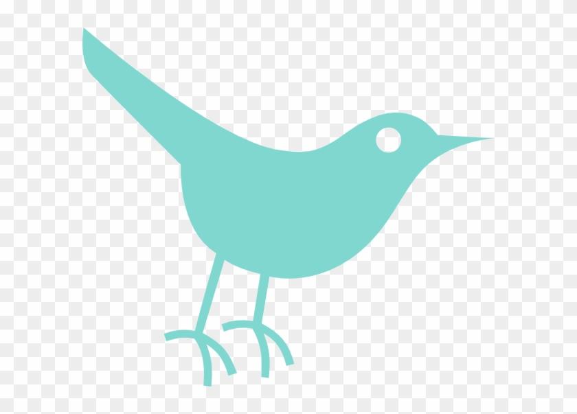 Robins Egg Twitter Bird Clip Art - Twitter Bird Icon #652473