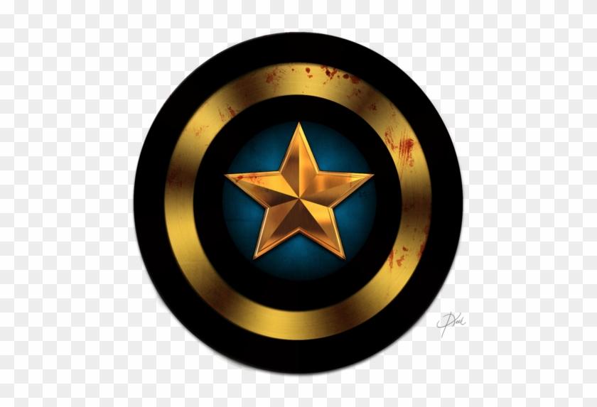 Captain America Shield Wallpaper Hd Resolution Black Captain