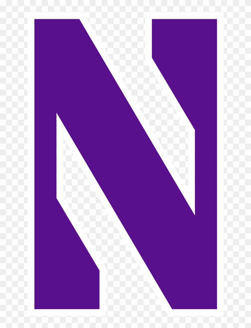 This Image Rendered As Png In Other Widths - Northwestern Logo #653493