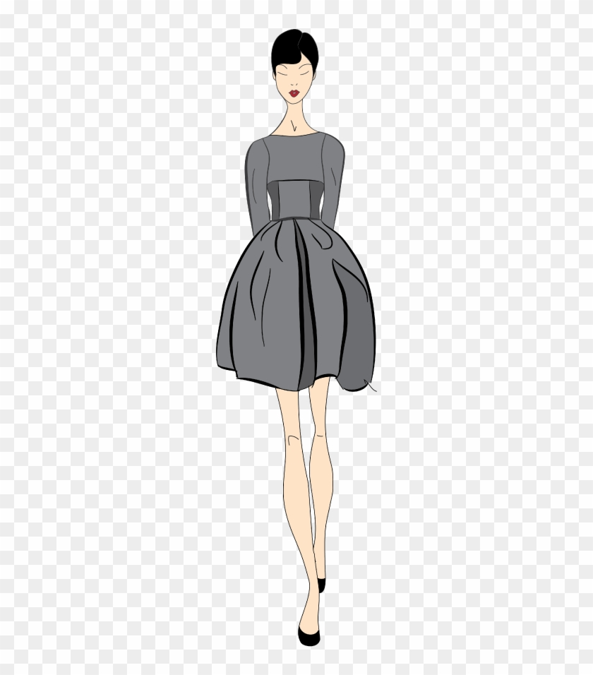 I Experimented With A Different Style For These Fashion - Little Black Dress #653745