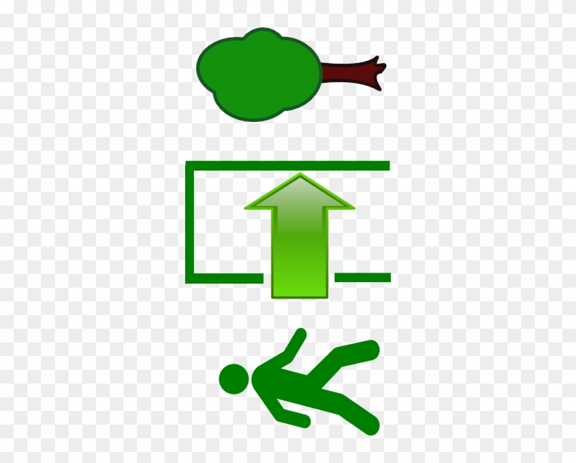 Exit Clip Art At Clker - Walking Man Icon #653994