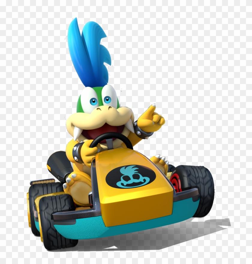 Larry Koopa Mario Kart 8 Deluxe Character Png Free Transparent