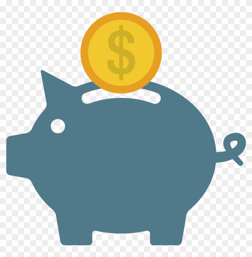Save Money Piggy Bank Tile - Money Box Pig Icon #655898