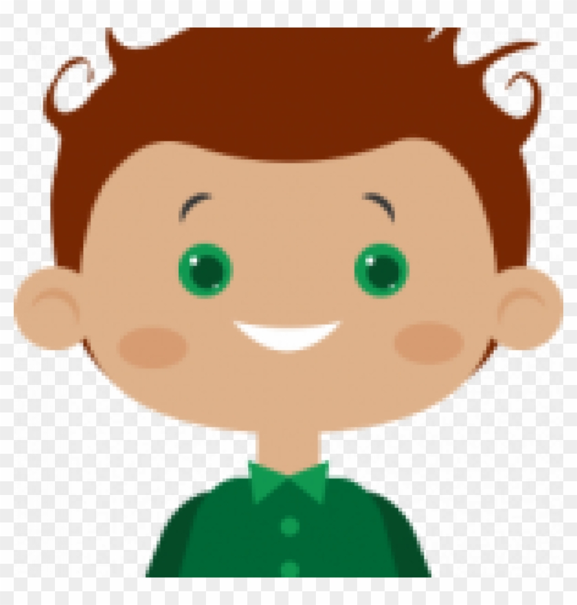 A Boy Of Curly Hair Cartoon Free Transparent Png Clipart Images Download