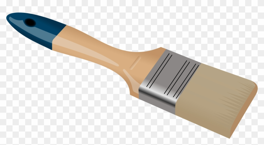 Paintbrush Free Paint Brush Clip Art - Free Paint Brush Clip Art #656514