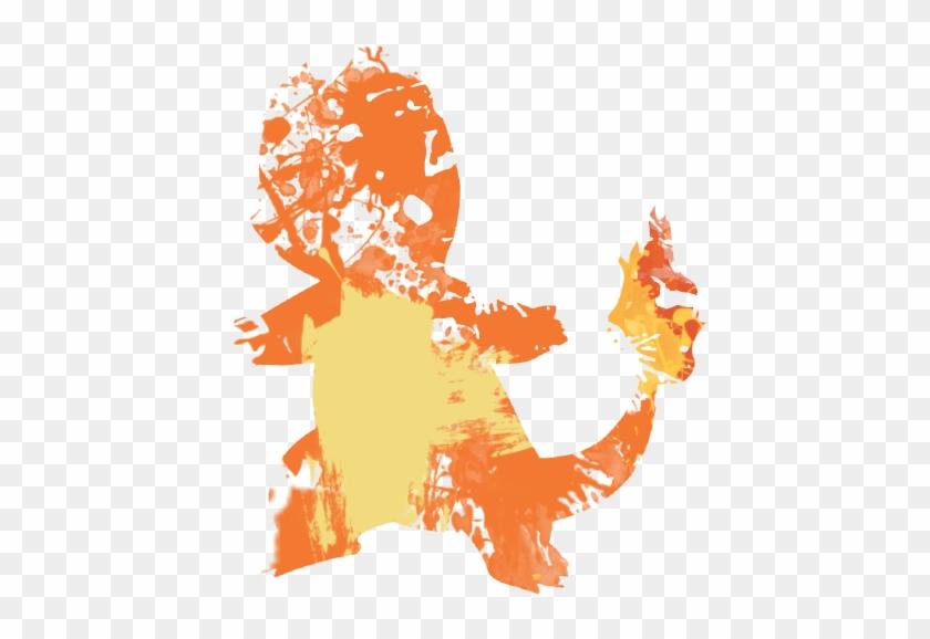 Orange Paint Sp - Splattered Orange Paint Transparent #656700