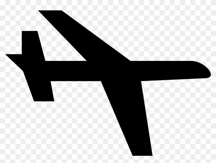 Aeroplane - Airplane Clip Art Simple #656877