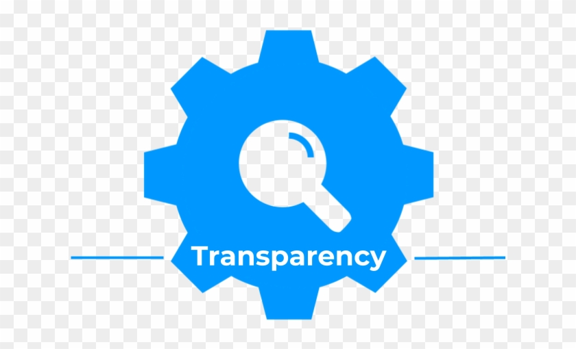 Transparency Cog Icon - Convenience Icon Png Blue - Free