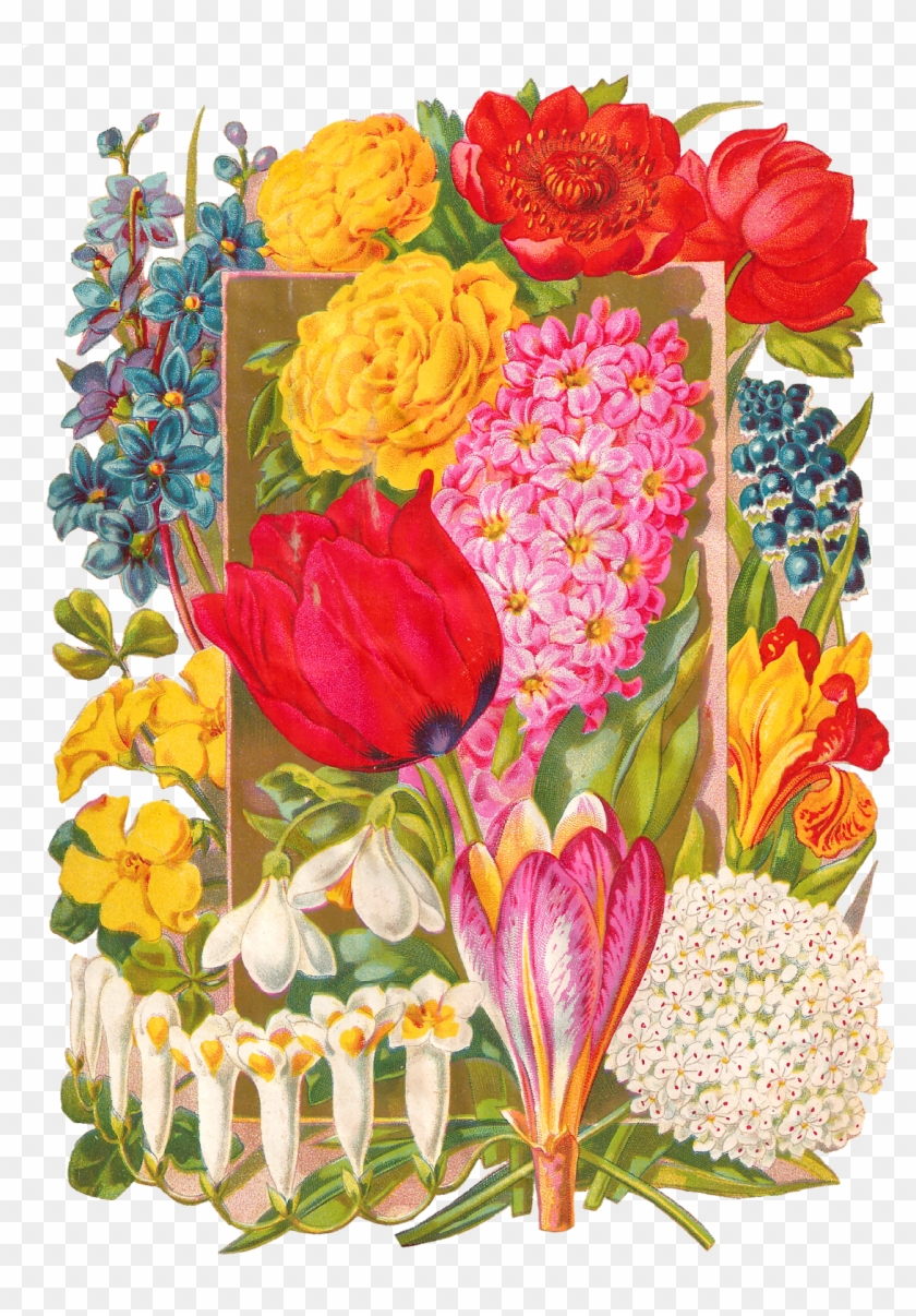 This Very Pretty Digital Flower Clip Art Would Make This Very