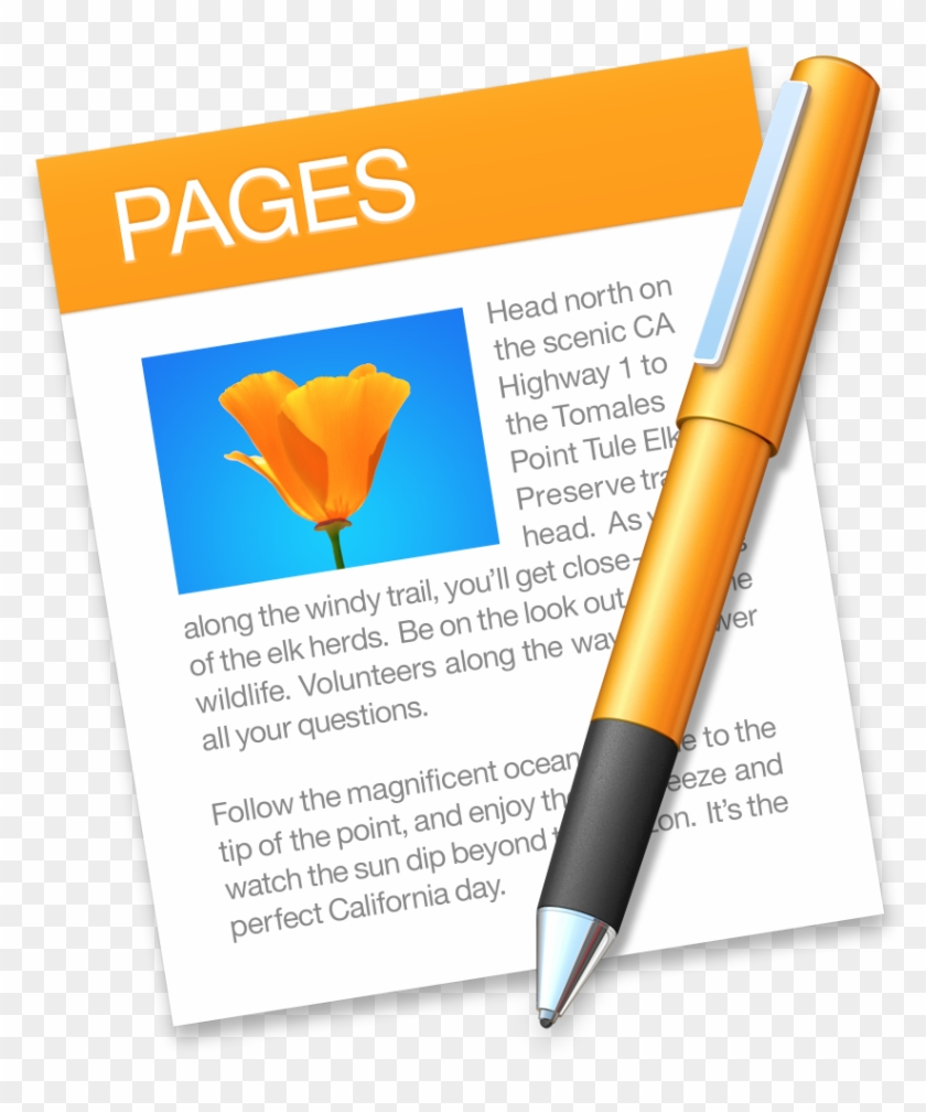 Pages Icon Pages Mac Free Transparent Png Clipart Images Download
