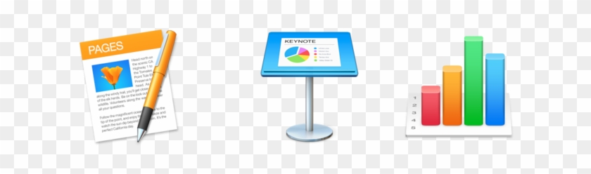 Apple Iwork 套件 Pages Keynote Numbers Logo Free Transparent Png Clipart Images Download