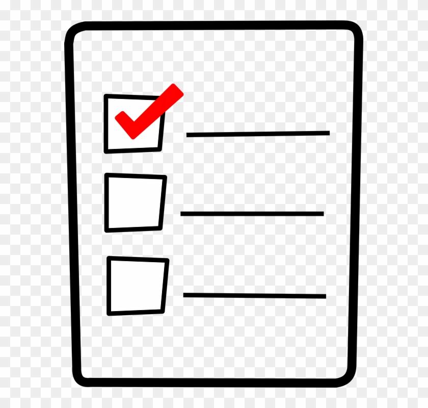 checklist clipart 659802