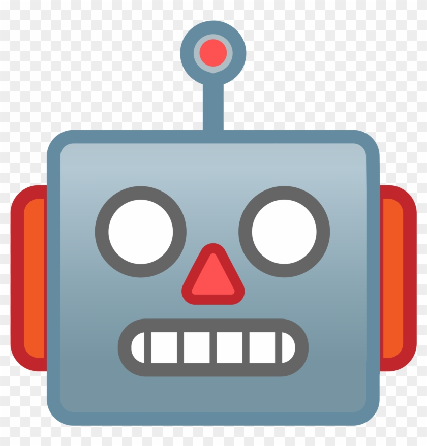 Open Robot Face Cartoon Free Transparent Png Clipart Images Download