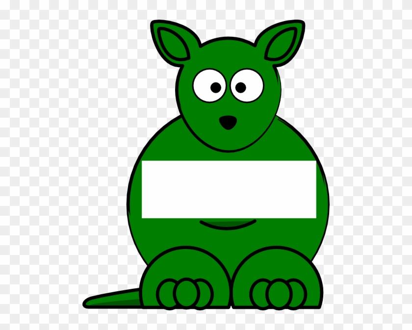 Cute Cartoon Kangaroo #660717
