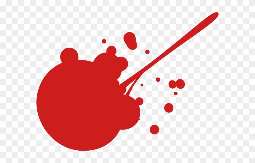 Dark Red Splat Clip Art At Clipart Library - Dark Red Paint Splatter #660751