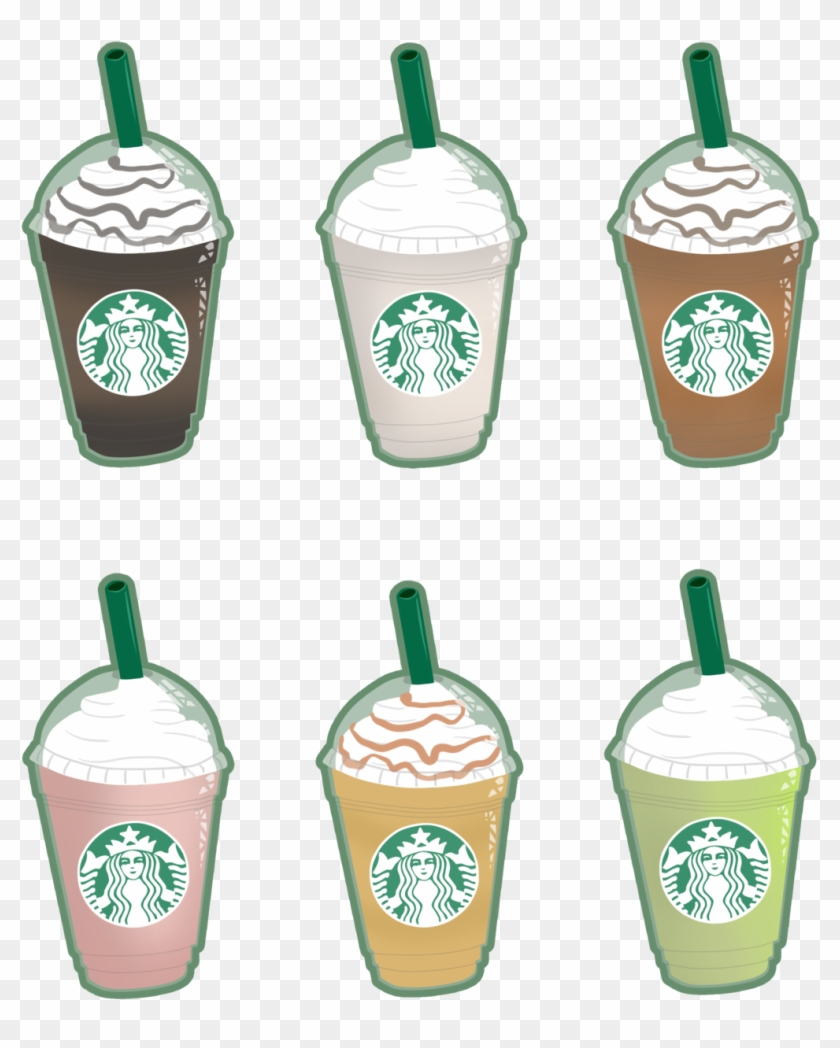Free Starbucks Caramel Frappuccino Drawing Frappuccino Drawings Free Transparent Png Clipart Images Download