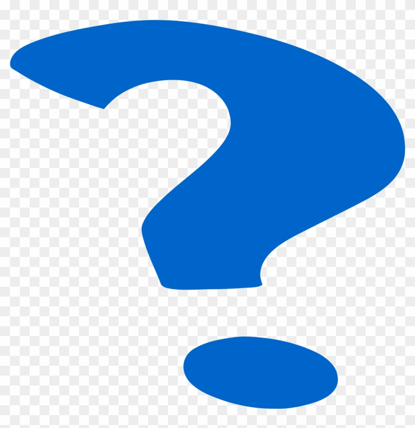 Blue Question Mark Svg 2000px - Moving Animated Question Mark - Free