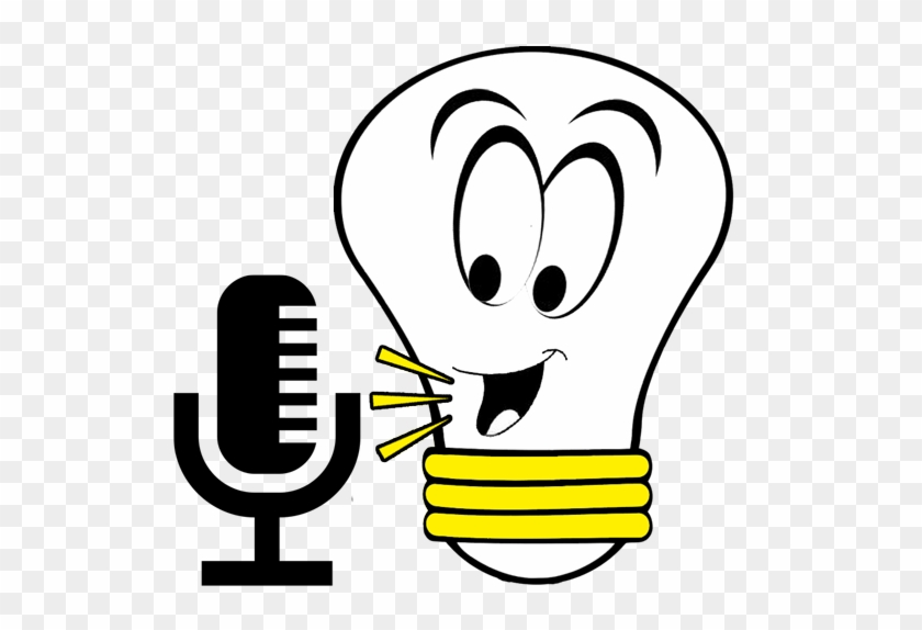 We Have Access To A Great Team Of Voice Over Artists - Cartoon Light Bulb Black And White #663183