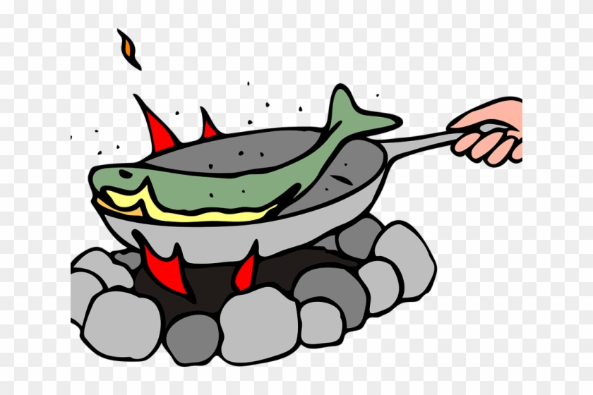 Fire Clipart Fish - Have Bigger Fish To Fry #663242