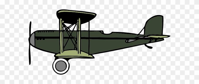 Crop Duster Plane Clipart #663359