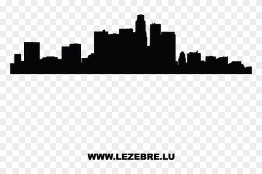 silhouette los angeles decal washington dc city outline free