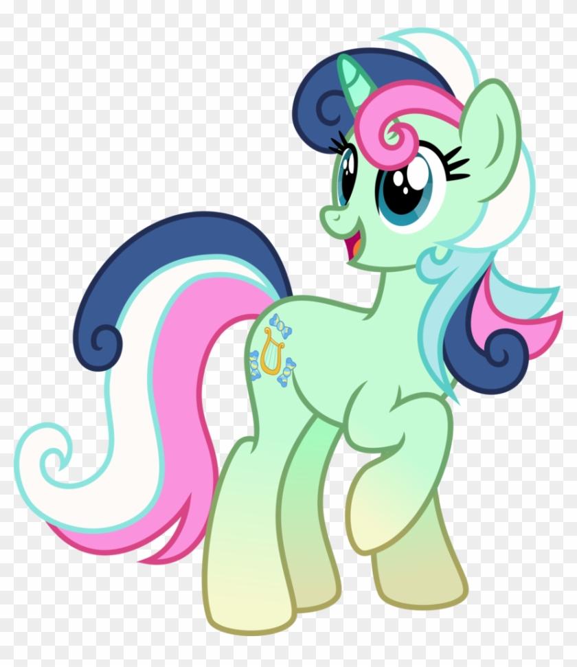 Fusion Of Lyra And Bon Bon By Osipush Lyra And Bonbon Mlp