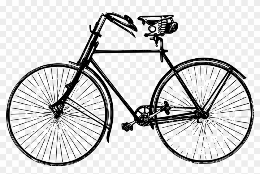 Bicycles Pictures 9, Buy Clip Art - Old Fashioned Bike #664251