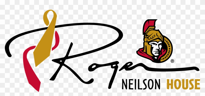 "Roger Neilson House Is One Of Only Six Pediatric Care - Nhl Ottawa Senators Multi-use Colored Decal, 5"" X 6"" #664731"