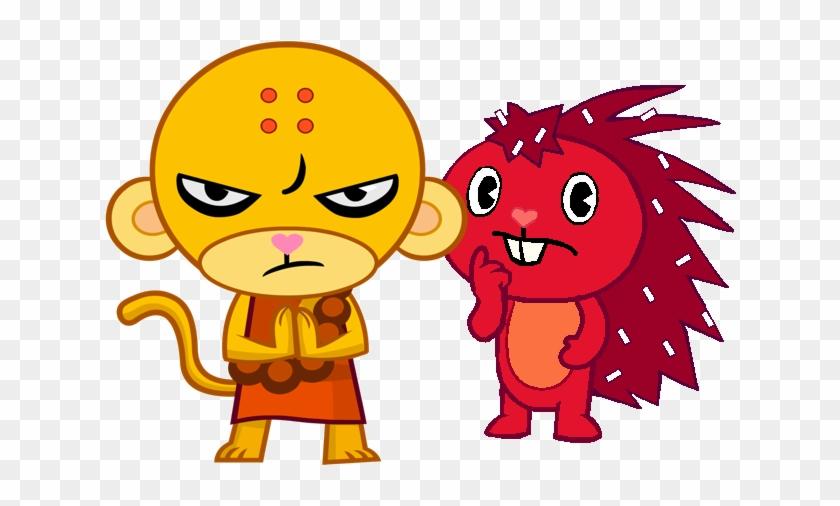Buddhist Monkey/flaky - Happy Tree Friends Buddhist Monkey #664917