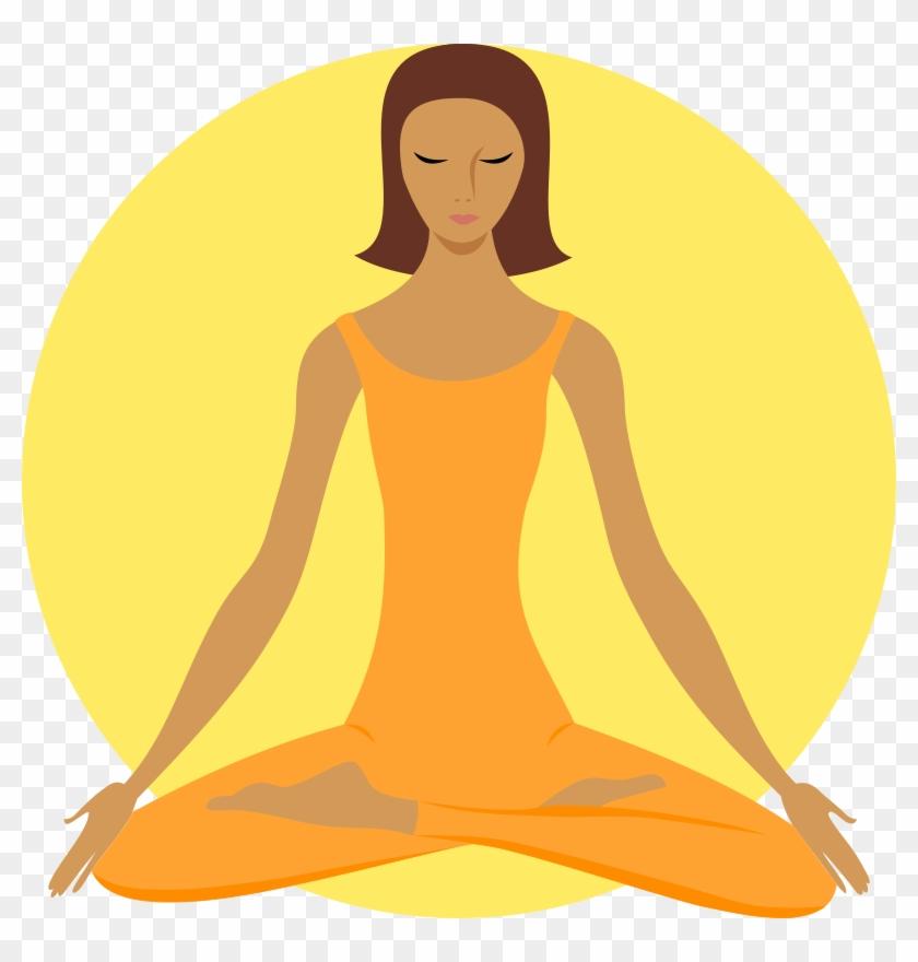 Full-size Image - Meditation Png #664922