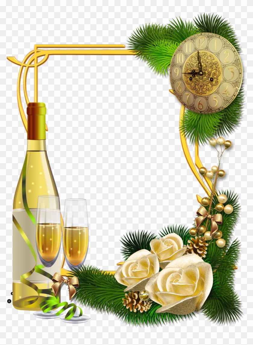 New Year Photo Frames - Free Transparent PNG Clipart Images Download