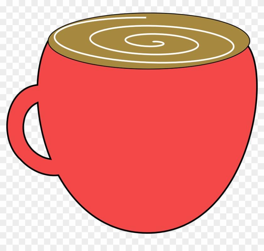 Mug Coffee Hot Chocolate Cup Drink Espresso - Hot Chocolate Mug Clipart #665018