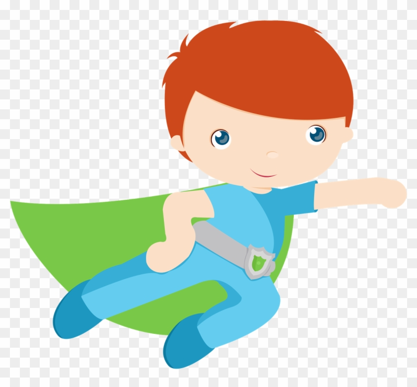 Kids Dressed As Superheroes Clipart - Superhero #666195