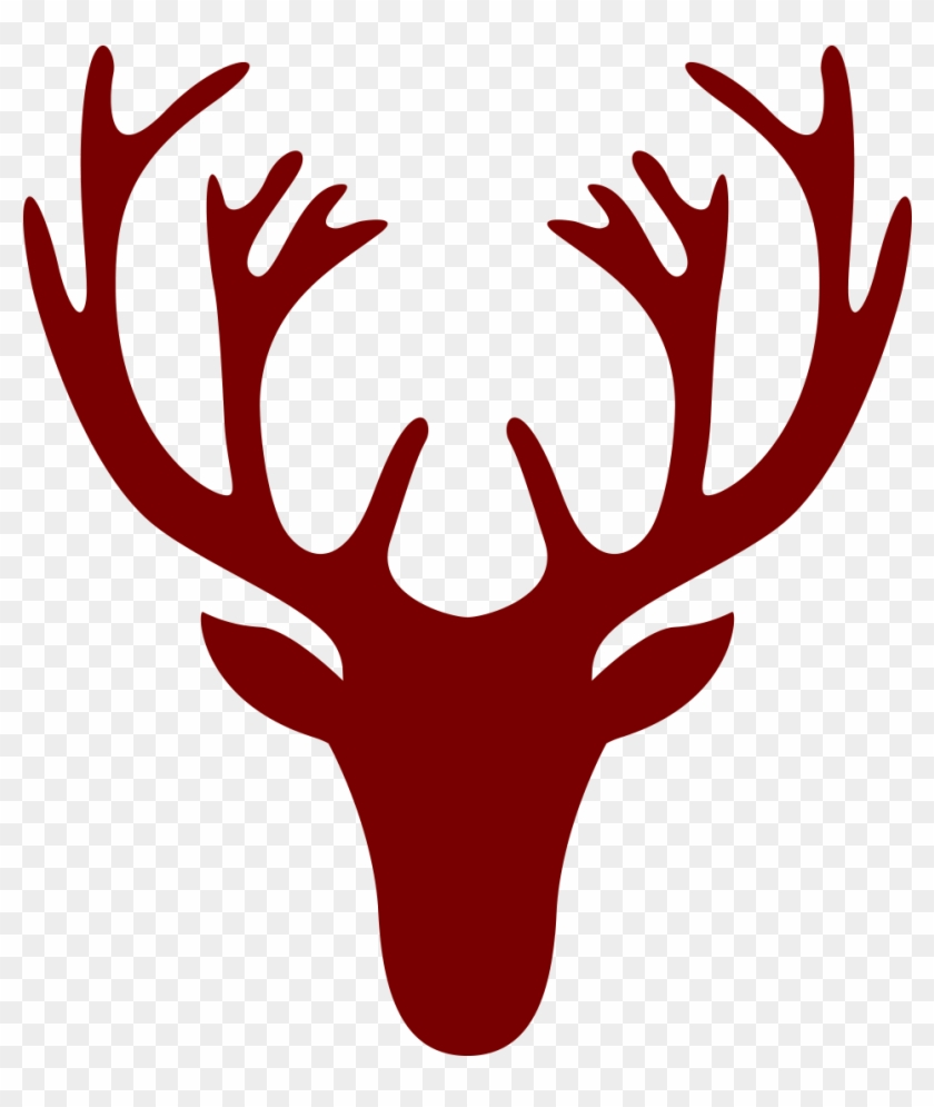 deer head drawing simple