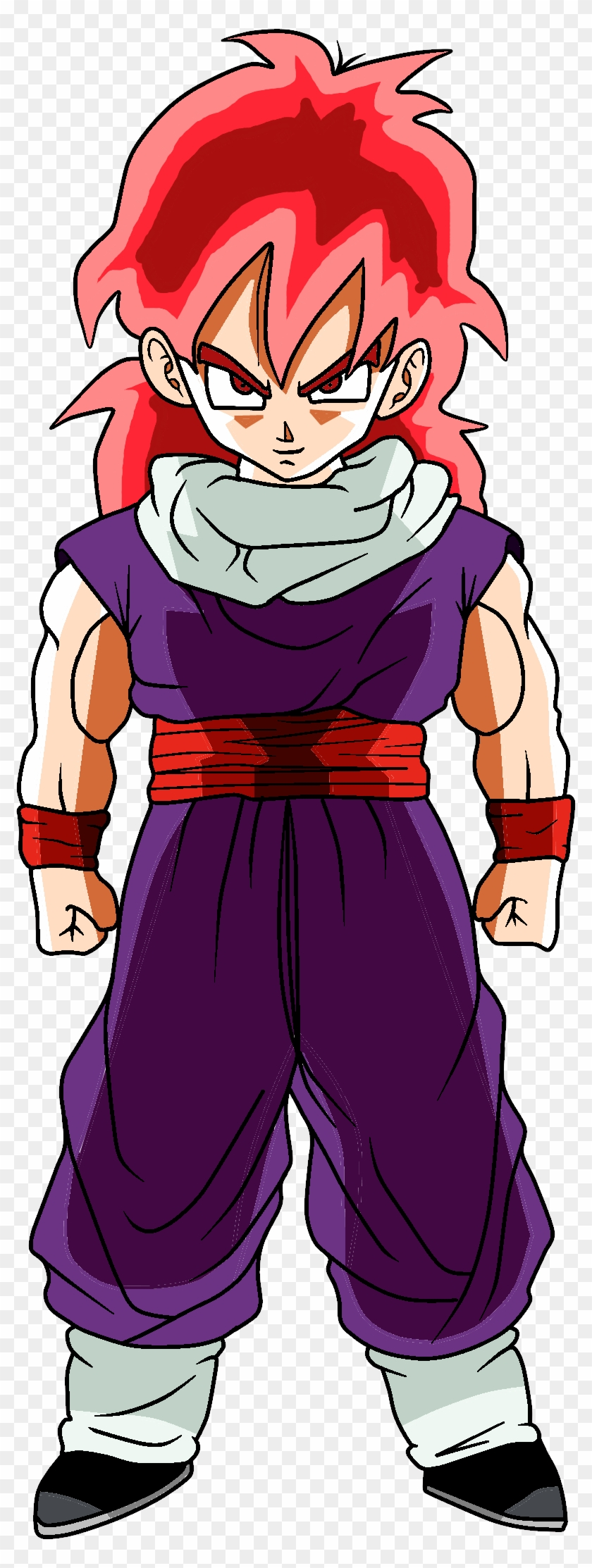 Super Saiyan God Gohan By Riolulucariofan9000 Super - Dragon Ball Z Gohan Long Hair #666479