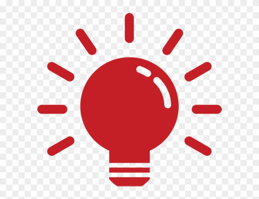 Light Bulb Red Web Glossy Icon Stock Illustrations - Light Bulb Icon Png Red #666633