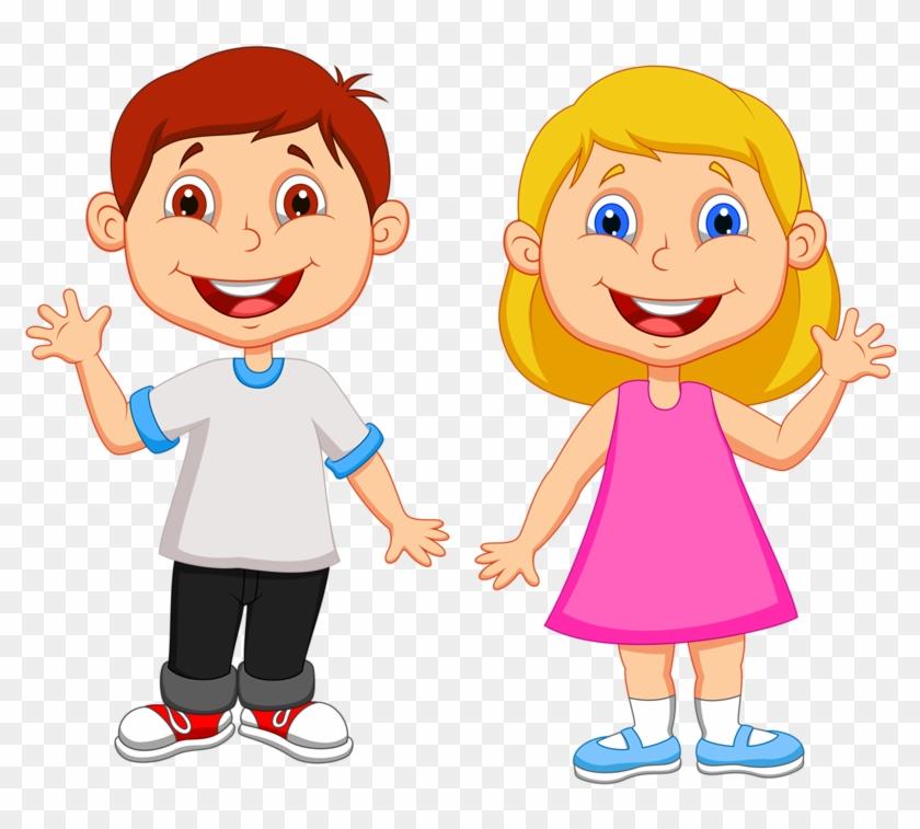 Фото, Автор Soloveika На Яндекс - Boy And Girl Cartoon #666763