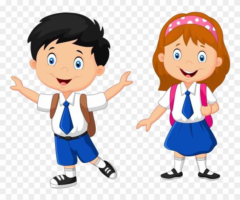 Яндекс - Фотки - School Children Cartoon #666886