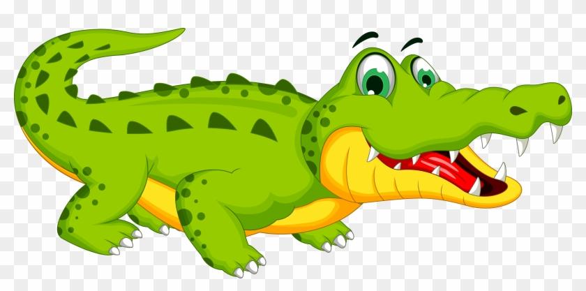 Crocodile Cartoon Royalty-free Stock Photography - Alligator Cartoon #668067