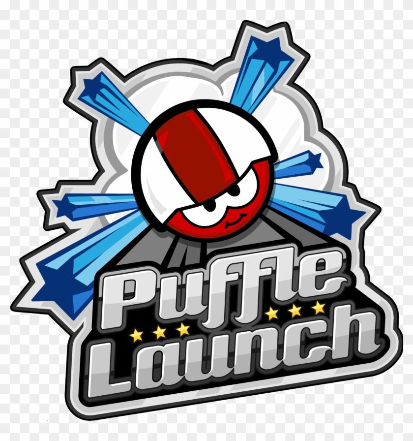 Puffle Launch - Club Penguin Puffle Launch Logo #668105