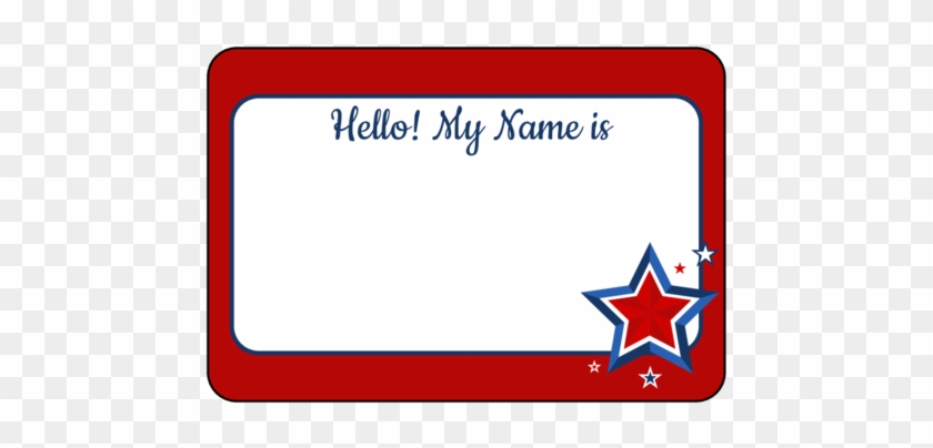 template for name tags