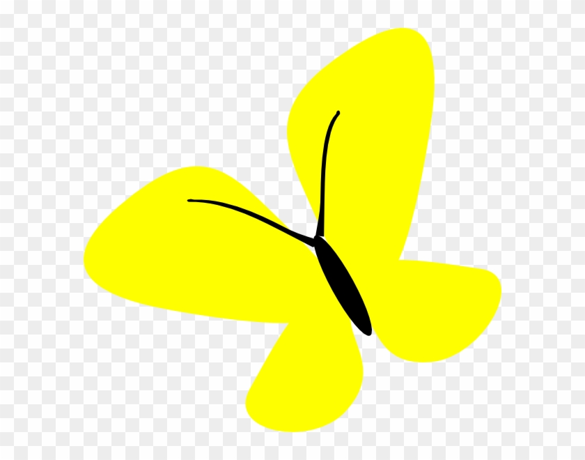 Clipart Butterfly Yellow Png #668421