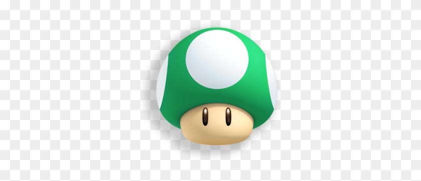1 Up Mushroom Super Mario Green Mushroom Free Transparent Png
