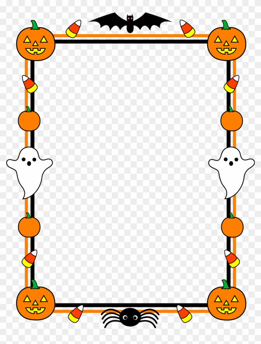 Color Interior Design Large Size Borders Design For Yay Halloween