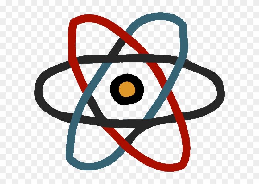 Atom - React Js Logo Png - Free Transparent PNG Clipart