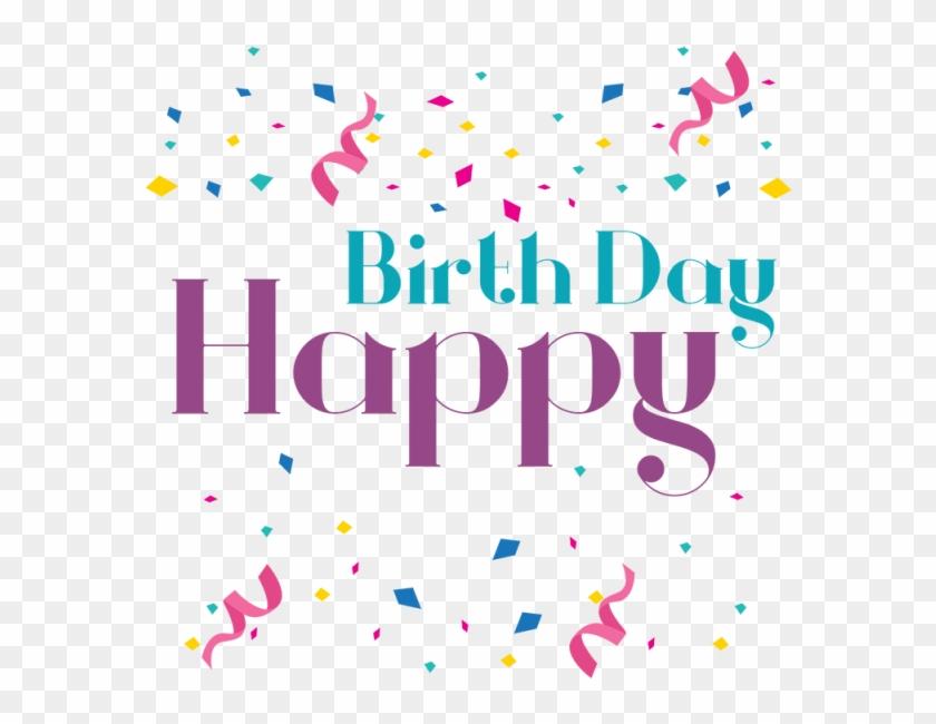 Happy Birthday Lettering Birth Png