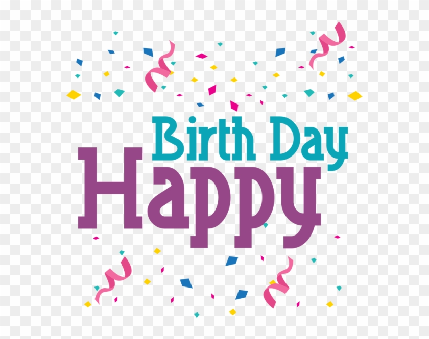 Happy Birthday Lettering, Happy, Birthday, Birth Png - Feliz